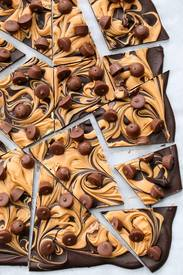 Chocolate Pb Cup Bark!