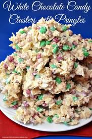 White Chocolate Candy Clusters!