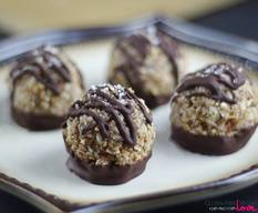 German Chocolate Macaroons!