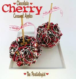 Chocolate Cherry Caramel Apples!