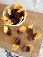 Chocolate Dipped Corn Chips!