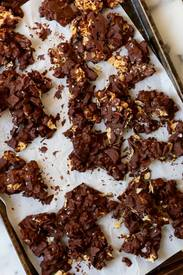 Chocolate Almond Ginger Bark!