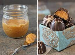 Caramelized White Chocolate Truffles!