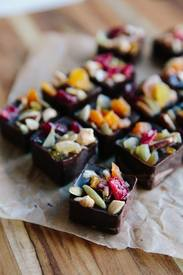 Dark Chocolate Snack Bites!