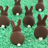 Chocolate Bunny Silhouettes!