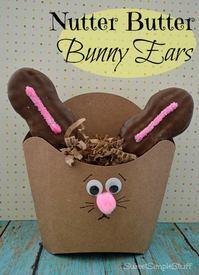 Nutter Butter Bunny Ears!