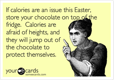 Counting Calories This Easter?