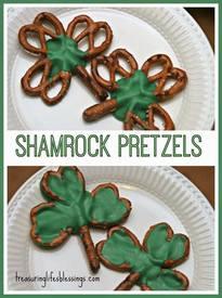 Shamrock Pretzels!