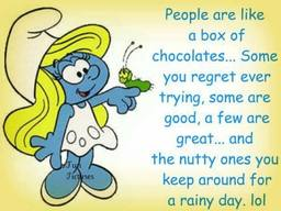 People Are Like A Box Of Chocolates!