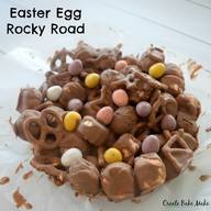 Caramel Easter Egg Rocky Road!