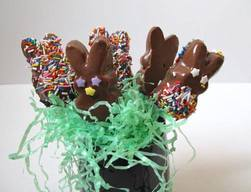 Chocolate Dipped Peeps!