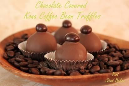 Kona Coffee Cake Truffles!