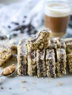 Chocolate Stuffed Oatmeal Bars!
