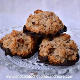 Chocolate Pecan Macaroons!