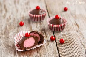 Chocolate Cherry Candy Cups!