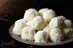 White Chocolate & Coconut Truffles!