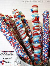 Celebration Pretzel Sticks!