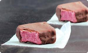 Strawberry Fudge Bars!