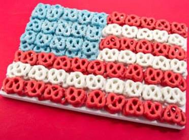 Chocolate Pretzel Flag!