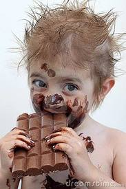 Man Cannot Live On Chocolate Alone!