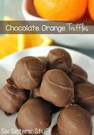 Chocolate Orange Truffles!