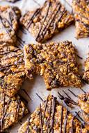 Chocolate Pb Snack Bars!