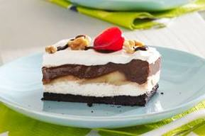 Chocolate Banana Split Dessert!