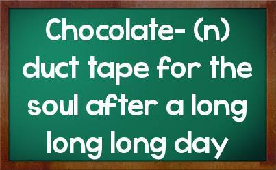 Chocolate Is The Remedy!