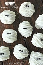 Mummy Donut Holes!