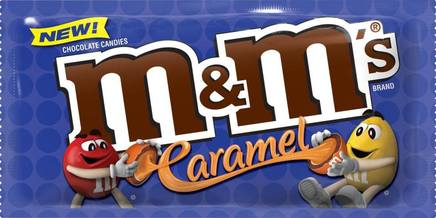 Caramel M & M's Are Coming!