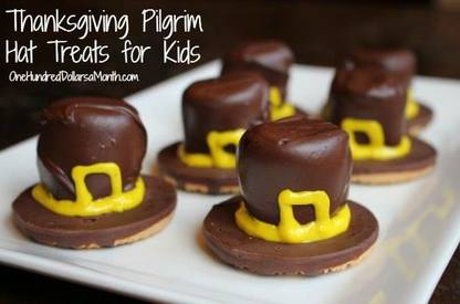 Pilgrim Hat Treats!