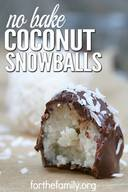 Coconut Snowballs!