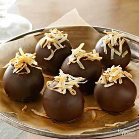 Coconut Cake Balls!