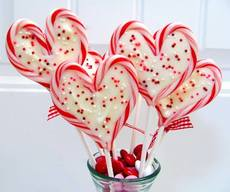 Sweet Heart Peppermint Chocolate Pops!