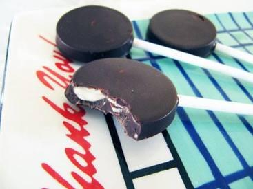 Sea Salt Chocolate Almond Lollipops!