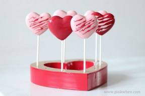 Valentine Chocolate Heart Pops!