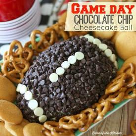 Chocolate Chip Cheesecake Ball!