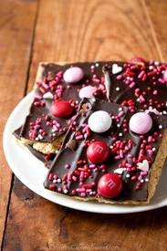 Valentine's Day Chocolate Bark!