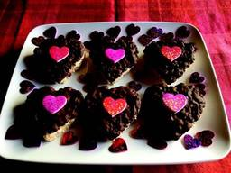 Chocolate Rice Krispies Hearts!