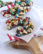 Cookie Dough Chocolate Bark!