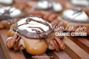 Salted Chocolate Caramel Clusters!