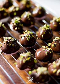 Chocolate Pistachio Marshmallows