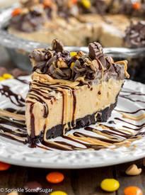 Creamy Peanut Butter Pie!