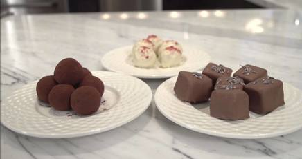 Learn How To Make Chocolate Truffles!