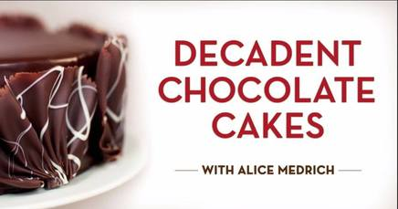 Decadent Chocolate Cakes!