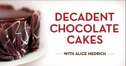 Decadent Chocolate Cakes!