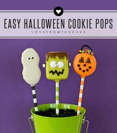 Halloween Cookie Pops!