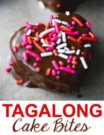 Tagalong Pound Cake Bites!