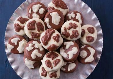 Cow Spot Cookies!