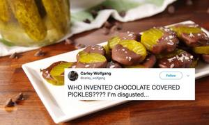 Chocolate Covered Pickles Are A Thing!